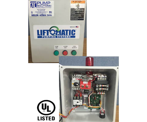 LIFT-0-MATIC Wastewater Control Panels